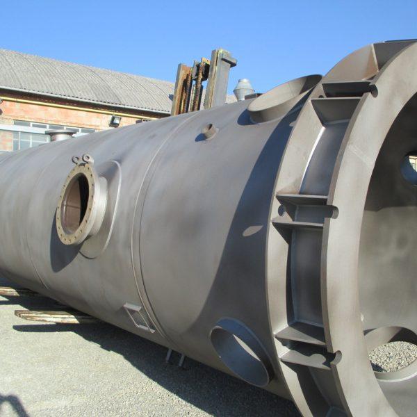 esempio di sabbiatura manuale nel tunnel - Sirio Verniciatura
